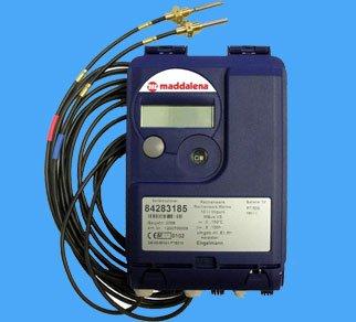 Електронний пристрій для вимірювання термічної енергії